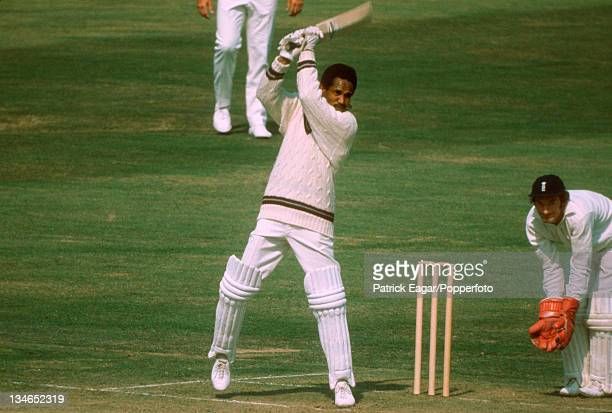 Gary Sobers and Alan Knott, England v West Indies, 3rd Test, Lord's, August 1973.