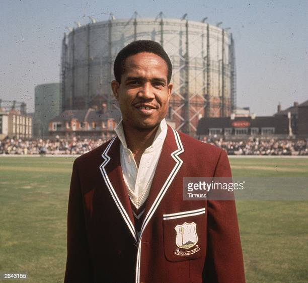 Gary Sobers before the start of the 5th Test between the West Indies and England at the Oval.