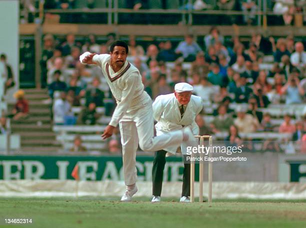 Gary Sobers bowling, England v West Indies, 1st Test, The Oval, July 1973.