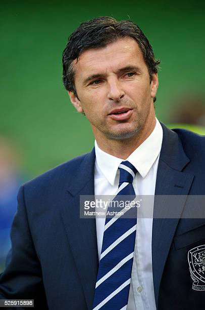 Gary Speed the head coach / manager of Wales