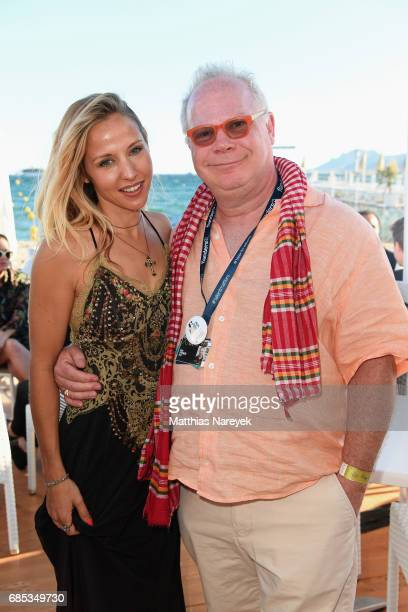 Gary Springer and guest attend From Dhaka to Cannes A Celebration of Talent hosted by the International Emerging Film Talent Association at La Plage...