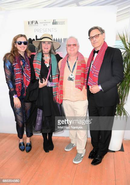 Gary Springer and guests attend From Dhaka to Cannes A Celebration of Talent hosted by the International Emerging Film Talent Association at La Plage...