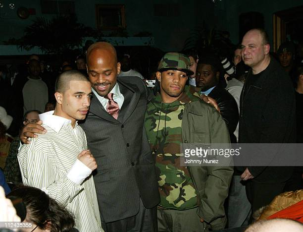 Gary Stark Jr Damon Dash Curtis Stevens and Lou Dibella