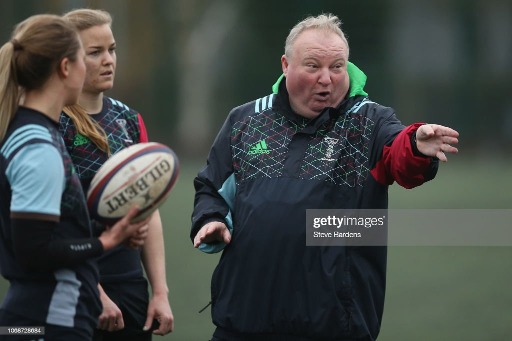 Harlequins Training : News Photo