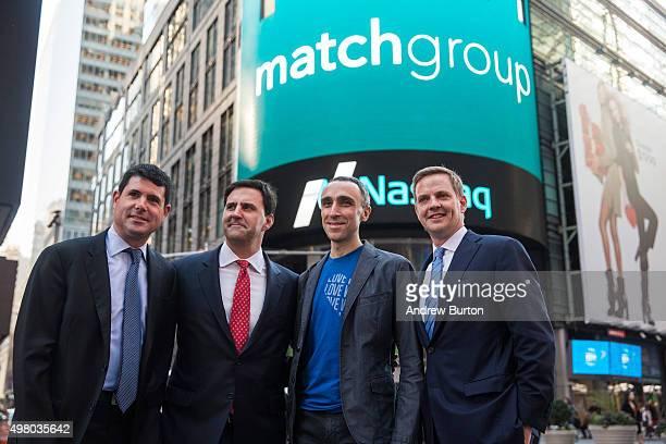 Gary Swidler chief financial officer of Match Group Greg Blatt chairman of Match Group Sam Yagan CEO of Match Group and cofounder and CEO of OkCupid...