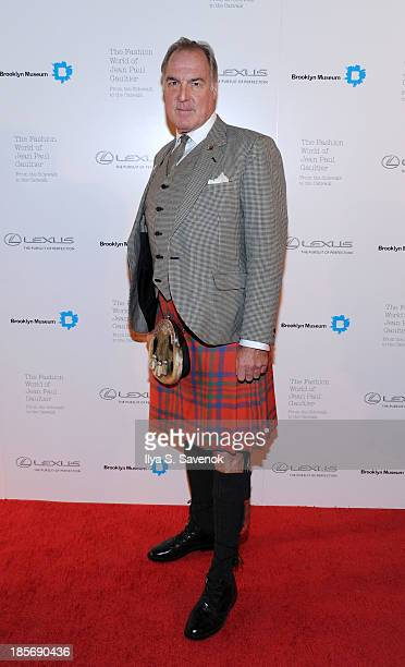 Gary Van Dis attends the VIP reception and viewing for The Fashion World of Jean Paul Gaultier From the Sidewalk to the Catwalk at the Brooklyn...