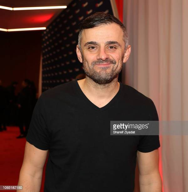 Gary Vaynerchuk attends Fanatics Super Bowl Party at College Football Hall of Fame on February 2 2019 in Atlanta Georgia