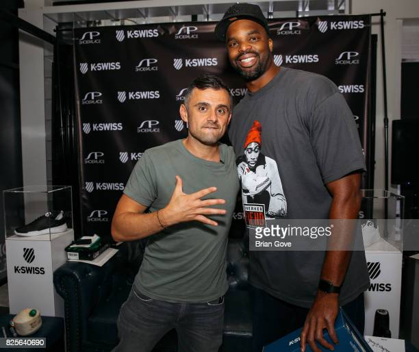 Gary Vaynerchuk attends K Swiss Event at Shoe Palace on August 1 2017 in Los Angeles California