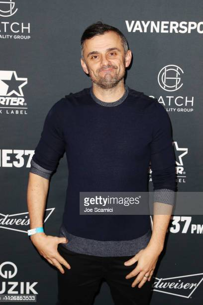 Gary Vaynerchuk attends VaynerSports x ONE37pm Emerging Kings Party on February 01 2019 in Atlanta Georgia