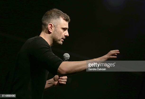 Gary Vaynerchuk speaks onstage at '#AskGaryVee IRL Gary Vaynerchuk Answers It All' during the 2016 SXSW Music Film Interactive Festival at Austin...