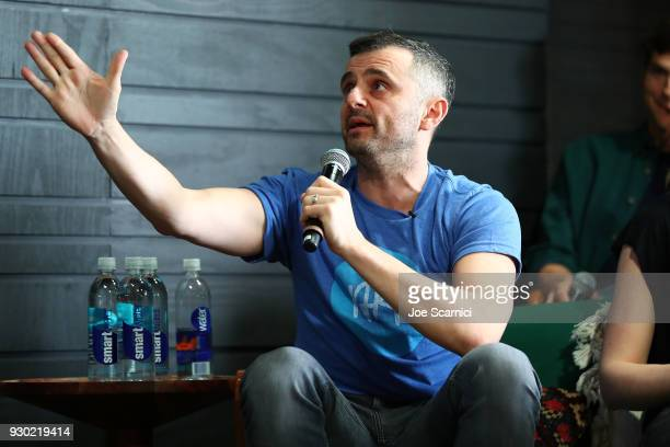 Gary Vaynerchuk speaks onstage at the Sound Ventures Tech Competition PerfectPitch at SXSW at Hotel Van Zandt on March 10 2018 in Austin Texas