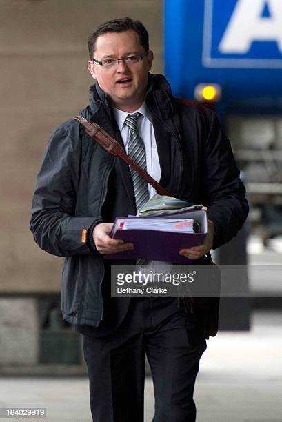 Gary Walker former chief executive of the United Lincolnshire hospitals NHS trust arrives at the Health Select Committee at Portcullis House on...