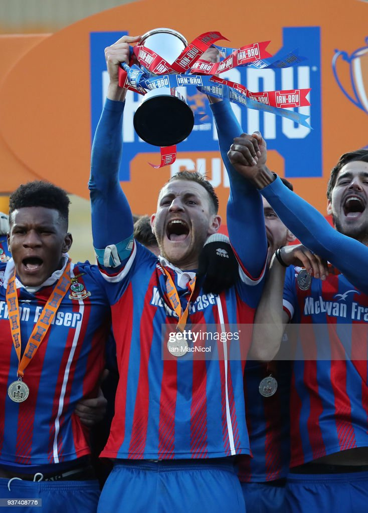 Dumbarton FC v Inverness Caledonian Thistle FC - IRN-BRU Scottish Challenge Cup Final