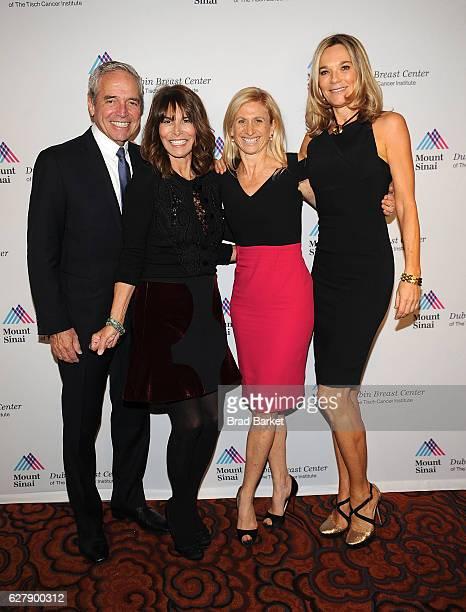 Gary Wexler Nina Wexler Dr Elisa Port and Dr Eva AnderssonDubin attend the Mount Sinai Dubin Breast Center Gala at Mandarin Oriental New York on...