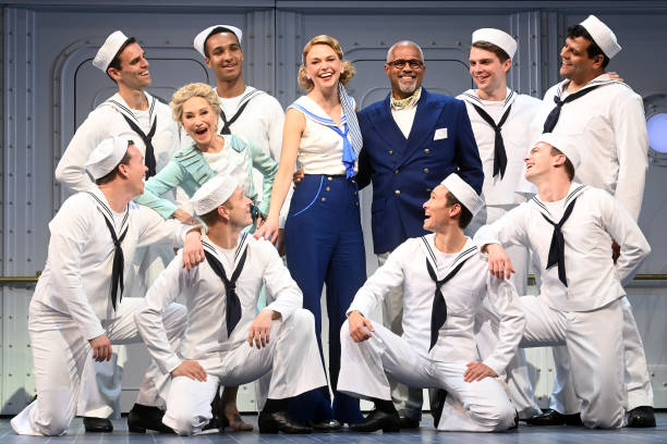 GBR: Robert Lindsay and Sutton Foster Lead Anything Goes Media Day At The Barbican Theatre