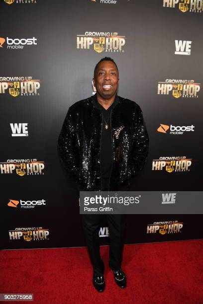 Gary With Da Tea attends 'Growing Up Hip Hop Atlanta' season 2 premiere party at Woodruff Arts Center on January 9 2018 in Atlanta Georgia