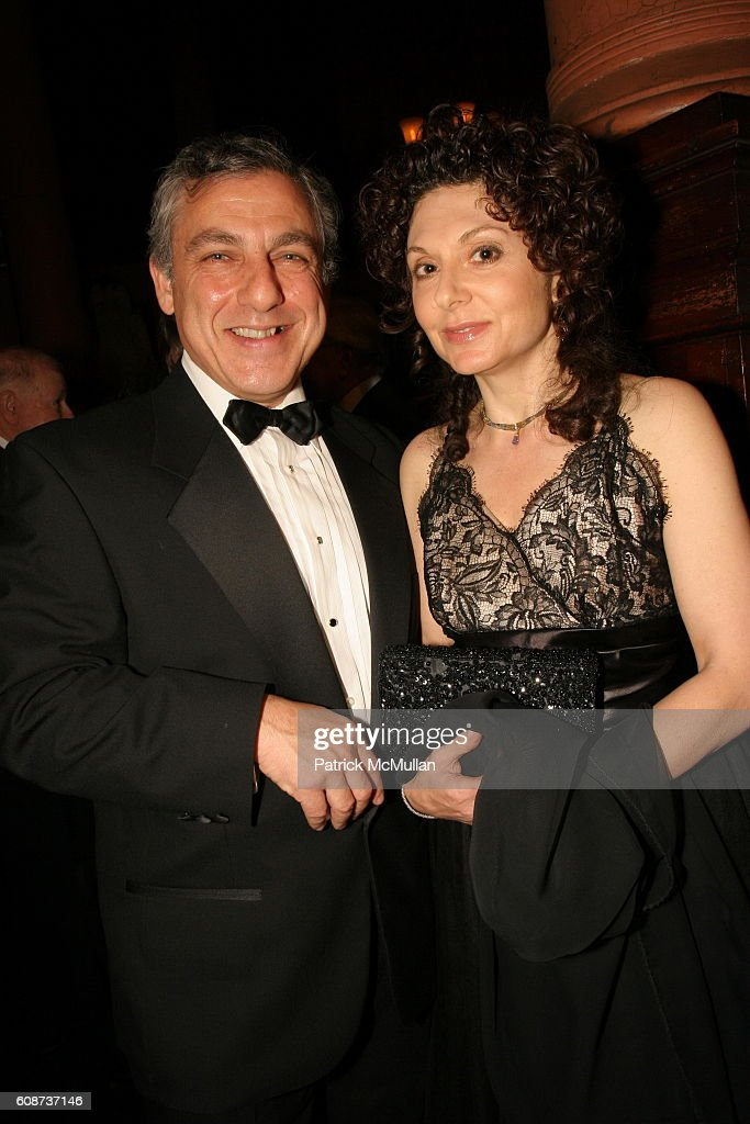Gary Zarr and Tanya Pushkine attend The Presentation of the    News