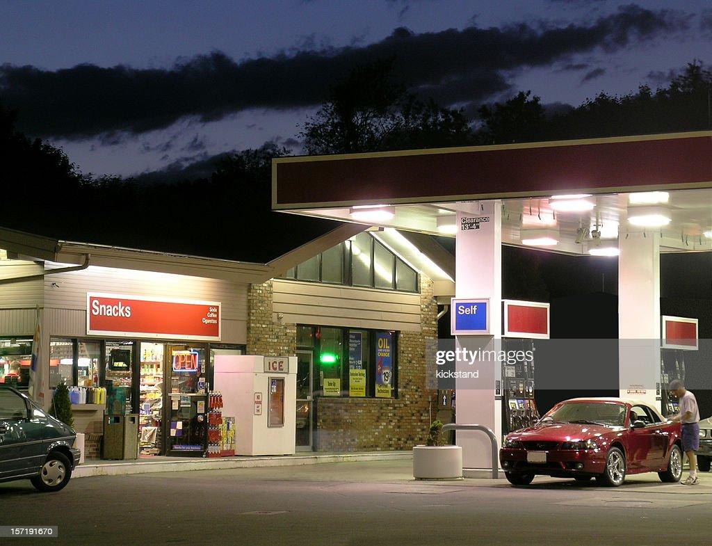 Gas und gehen : Stock-Foto