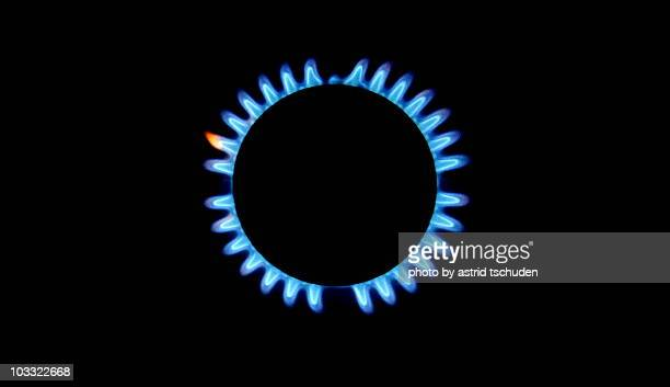 gas flame  - flame stock pictures, royalty-free photos & images