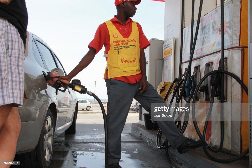 Treibstoff Treibstoff, Benzin : Stock-Foto