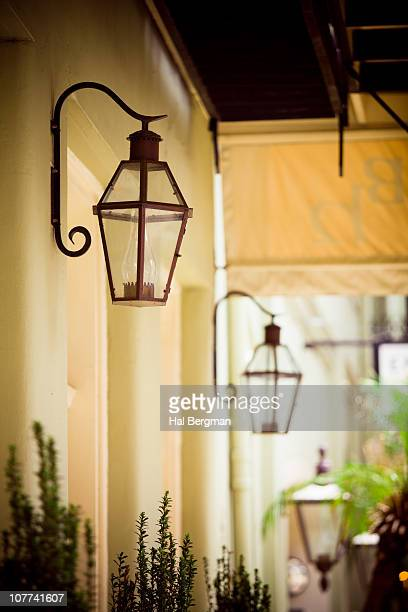Gas Lamps, French Quarter