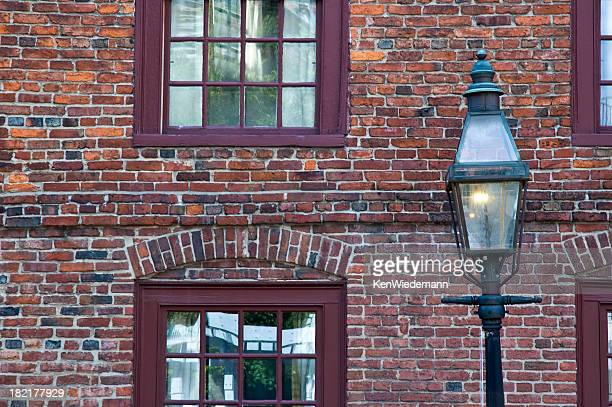 Gas Light and Old Brick