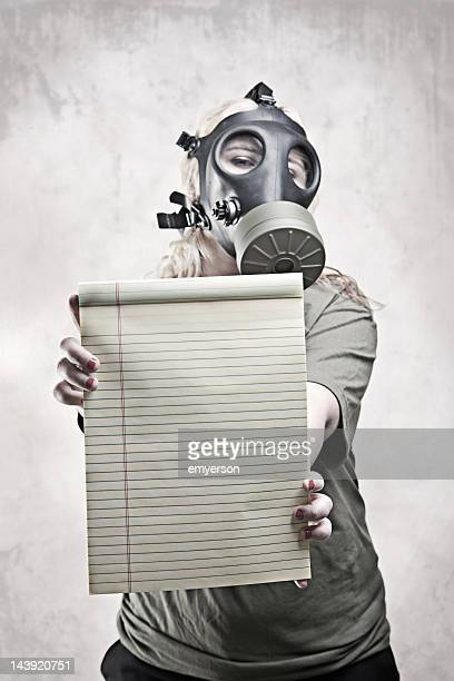 Gas Mask Girl: Message