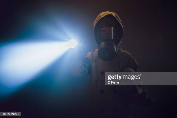 gas mask - hazmat stock pictures, royalty-free photos & images