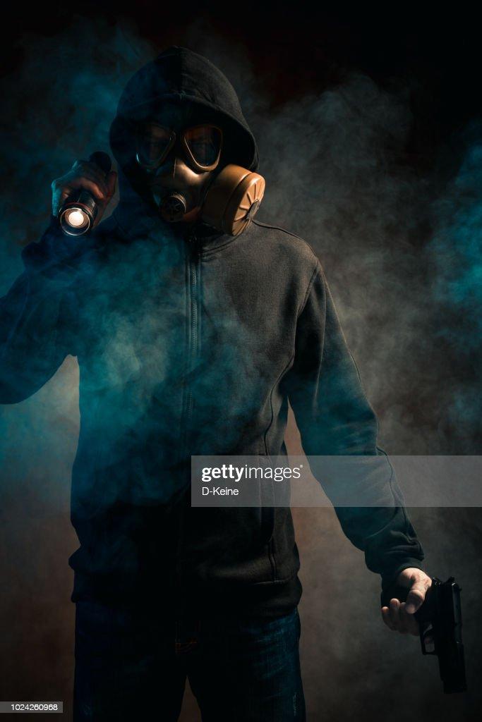 Gas mask : Stock Photo