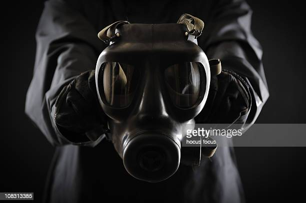 gas mask - acid rain stock pictures, royalty-free photos & images