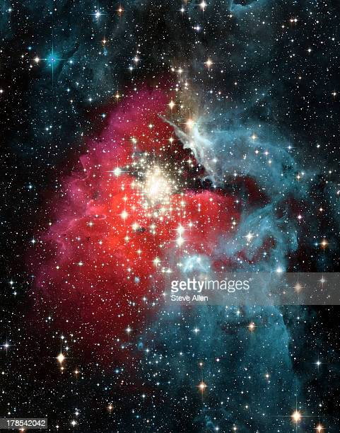 gas nebula - deep space - nebula stock pictures, royalty-free photos & images