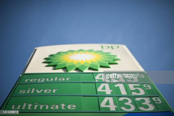 Gas prices have risen to over $400 per gallon at the BP gas station in the Logan Circle neighborhood of Washington on Monday March 12 2012