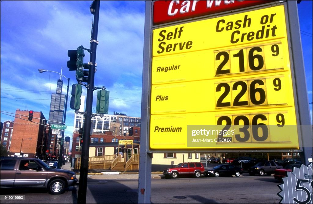 Gas Prices Chicago >> Gas Prices In Chicago Have Bee Over 2 Dollars A Gallon For The Past