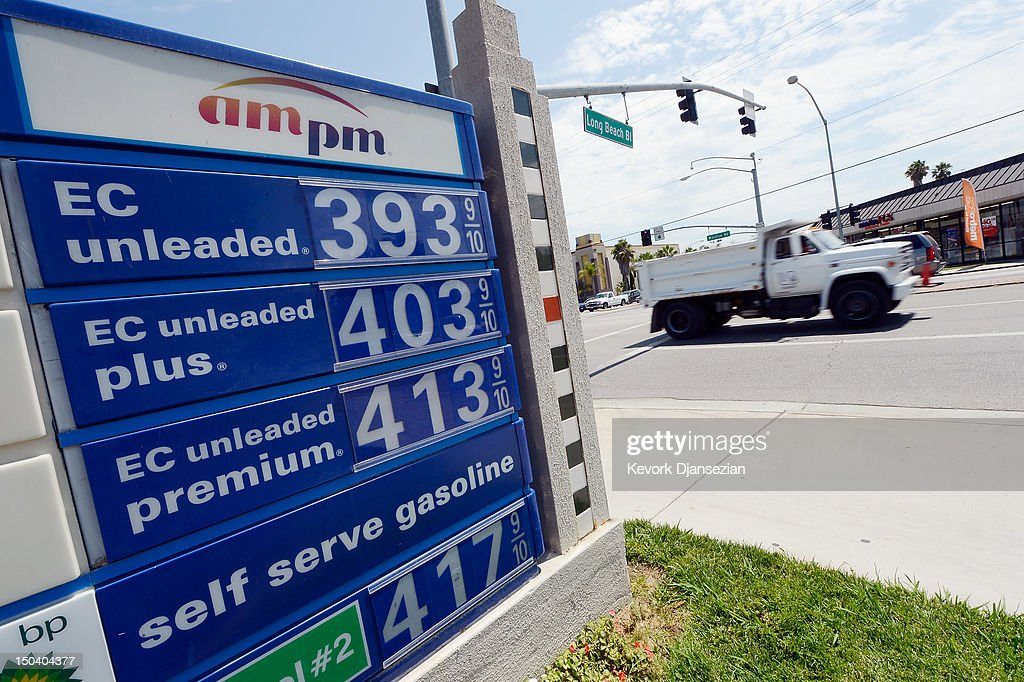 Arco Gas Prices >> Gas Prices Over 4 Is Dispalyed At The Arco Gas Station On