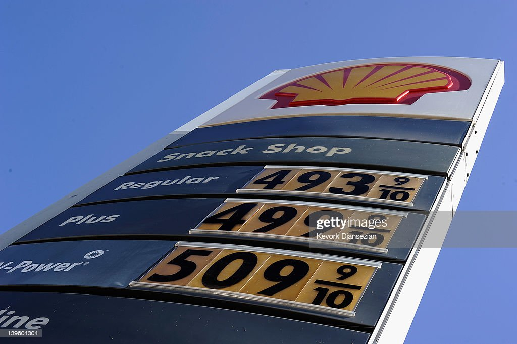 Gas Prices Rise Over Four Dollars A Gallon In California