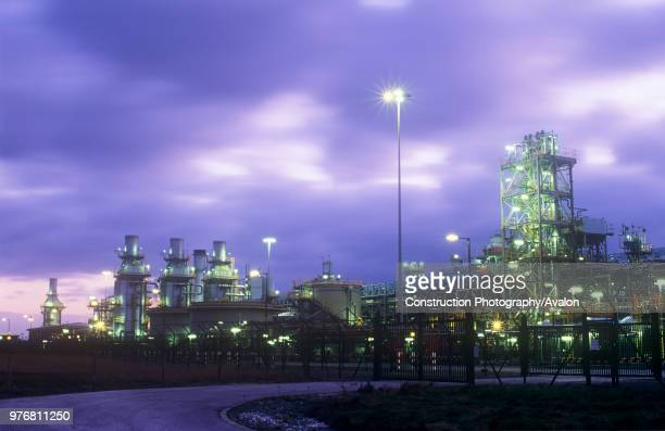 A gas processing plant at Barrow in Furness that takes gas from the Morecambe Bay gas field and is one of the largest gas plants in Europe
