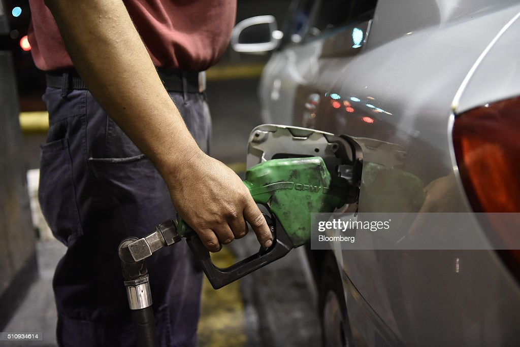 Gas Stations In Venezuela As President Maduro Boosts Gas Prices : News Photo