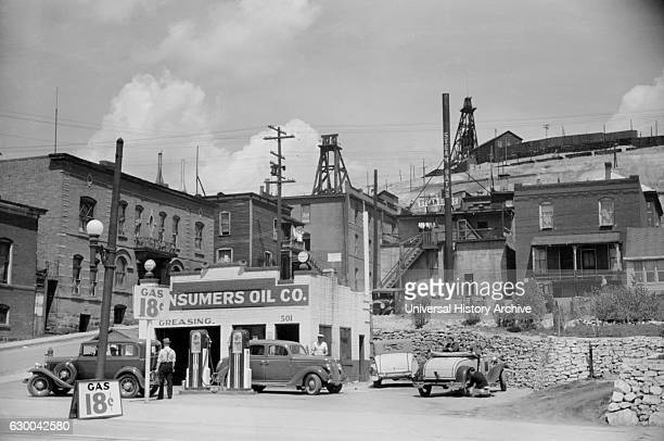 Gas Station Butte Montana Arthur Rothstein for Farm Security Administration July 1939