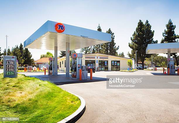 76 gas station in Campbell Central California