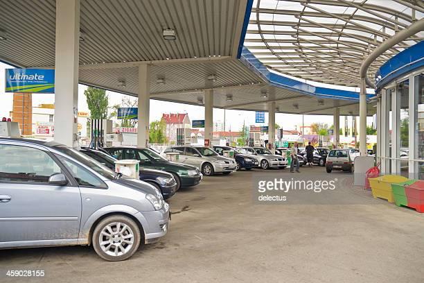 ARAL BP-Tankstelle in Polen