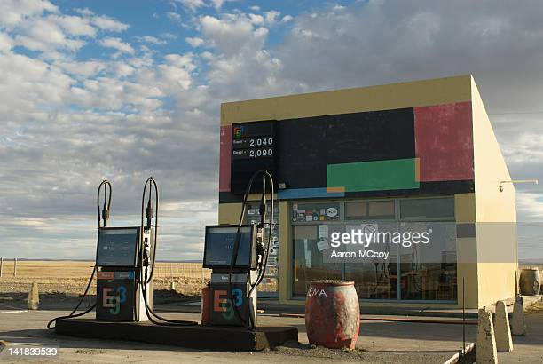 Gas station on Ruta 40, Southern Argentina