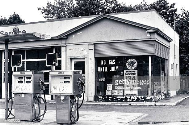 Gas Station Out Of Gas Summer 1979