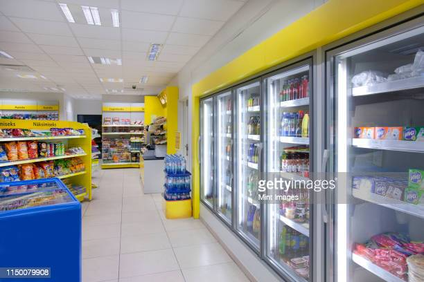 gas station shop - gas station stock pictures, royalty-free photos & images