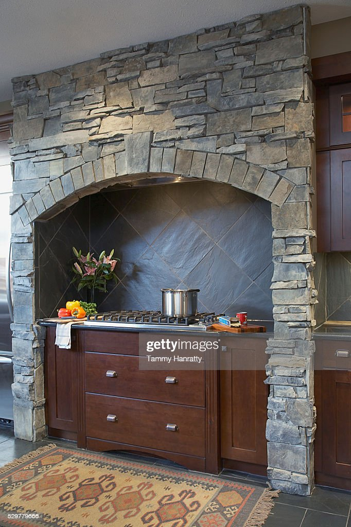Gas stove : Stock-Foto
