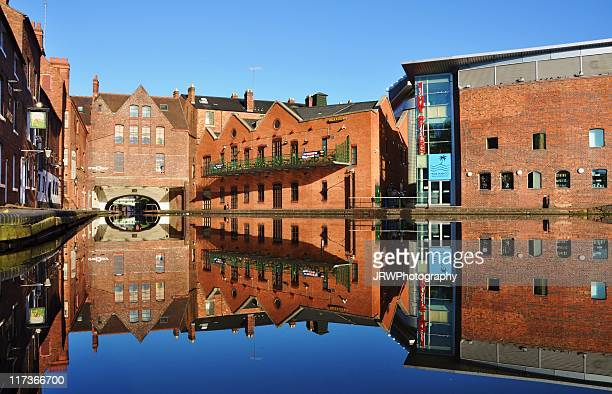 gas street basin - birmingham england stock photos and pictures