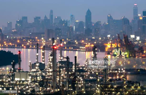 gas turbine electrical power plant - south east asia stock pictures, royalty-free photos & images