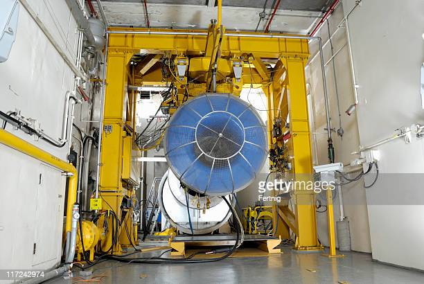 """Gas turbine """"Motor"""" test room"""