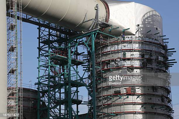Gasturbinen-Kraftwerk