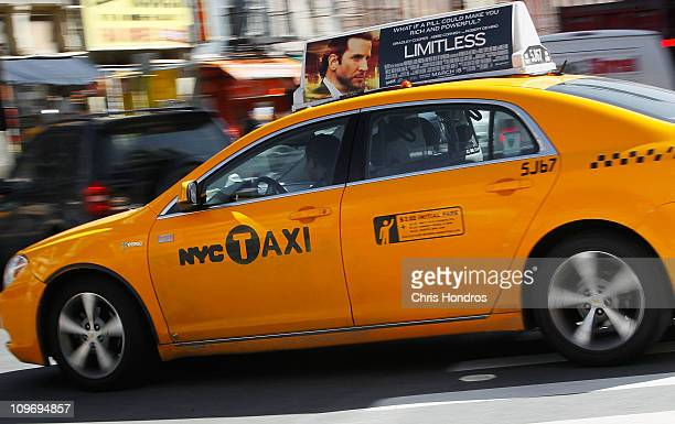 A gaselectric hybrid taxi cab drives on a street March 1 2011 in New York City The US Supreme Court has decided not to hear an appeal in a case that...