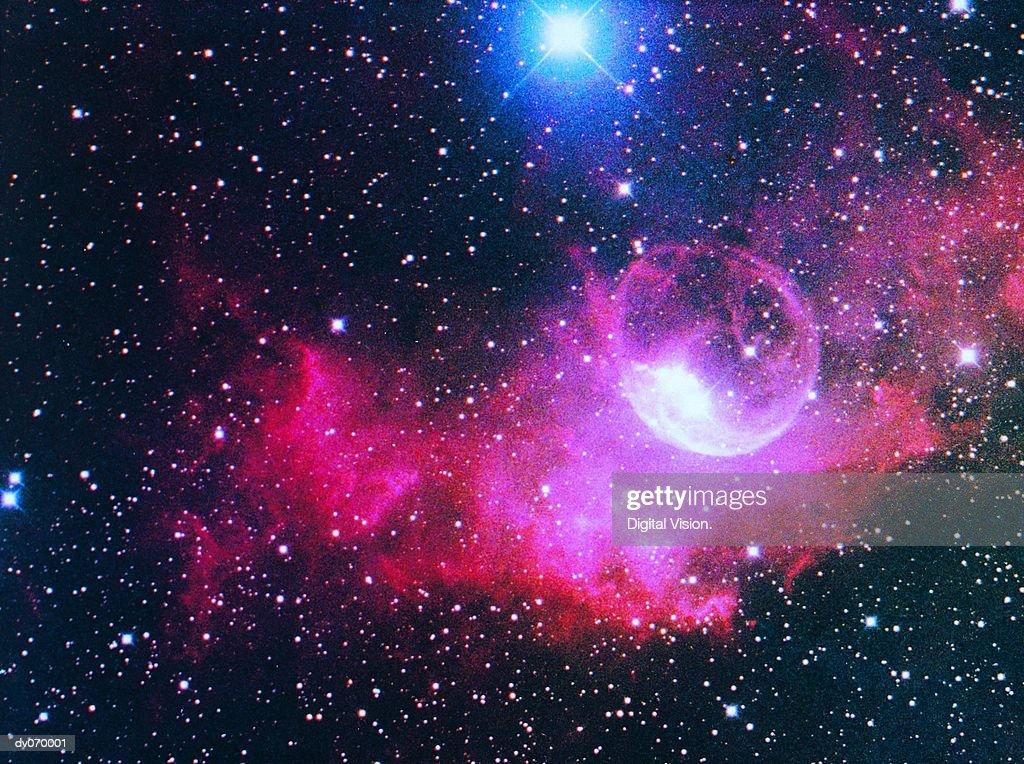 A gaseous nebula : Stock Photo